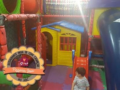 Pizzaria com espaço kids no ABC