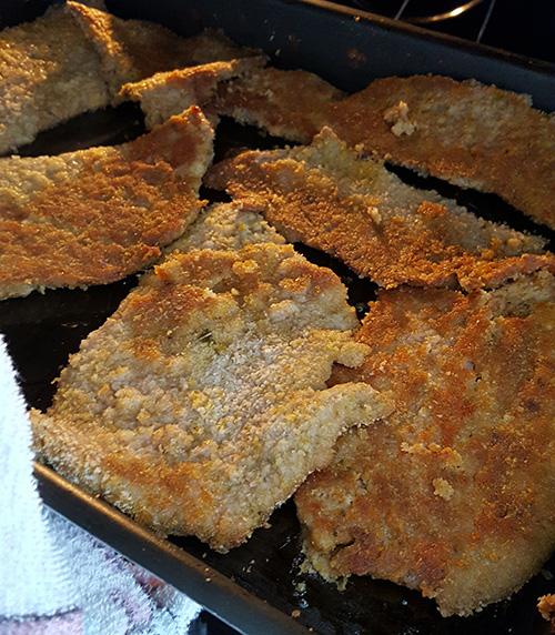 bife à milanesa assado: bife prático e sem fritura