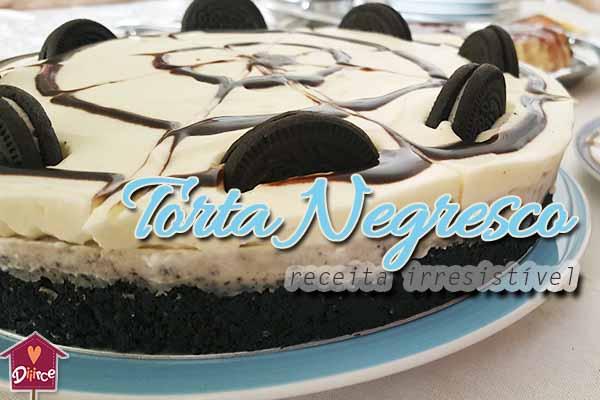 Torta Negresco – Você não vai resistir
