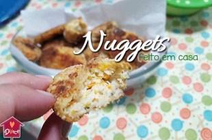 receita de nuggets caseiro: saudável e rende muito!