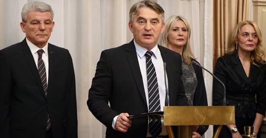 """Komšić o aferi """"selefije"""": Razumijem zabrinutost, ali nećemo dozvoliti destabilizaciju BiH"""