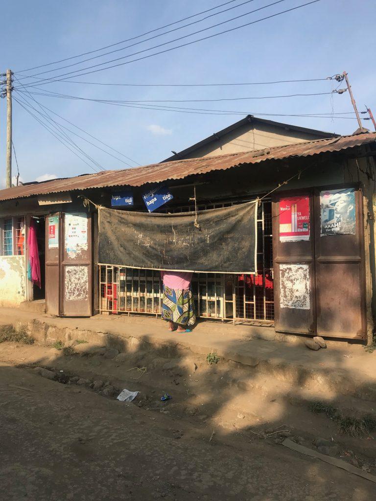 Shops in Tanzania