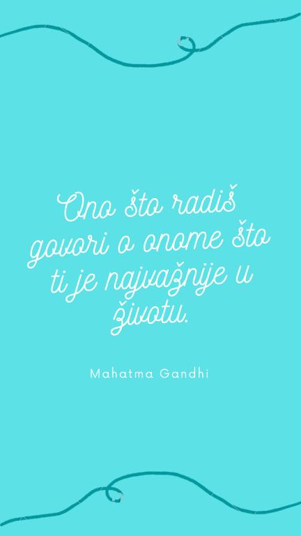 Mahatma Gandi - izreke