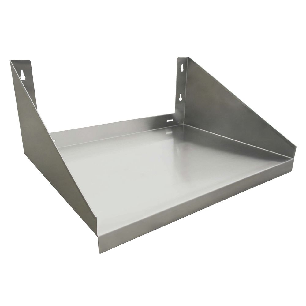 hubert stainless steel wall mount microwave shelf 24 l x 24 w x 10 h