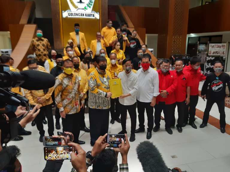 Golkar Resmi Dukung Putra Sulung Presiden Joko Widodo Maju di Pilkada Solo