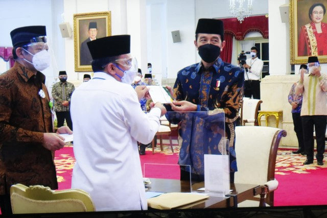 Gerakan Cinta Zakat Diluncurkan Presiden Jokowi