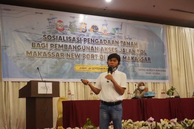 Tahap Persiapan dan Sosialisasi Akses Jalan Tol Makassar New Port