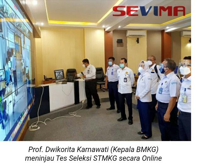 Sekolah Ikatan Dinas STMKG Seleksi Mahasiswanya Se- Indonesia Secara Online