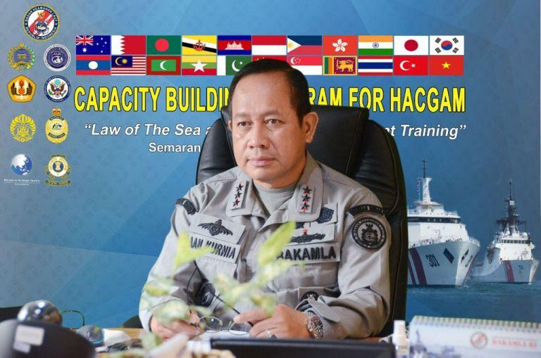 Bakamla RI Pimpin Perwakilan 19 negara Dalam Kegiatan Pelatihan Capacity Building