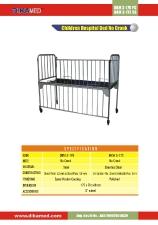 18. Children hospital bed no crank