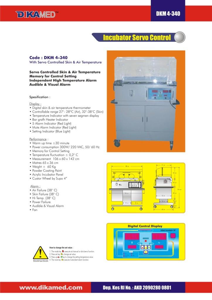 107. Incubator Service control