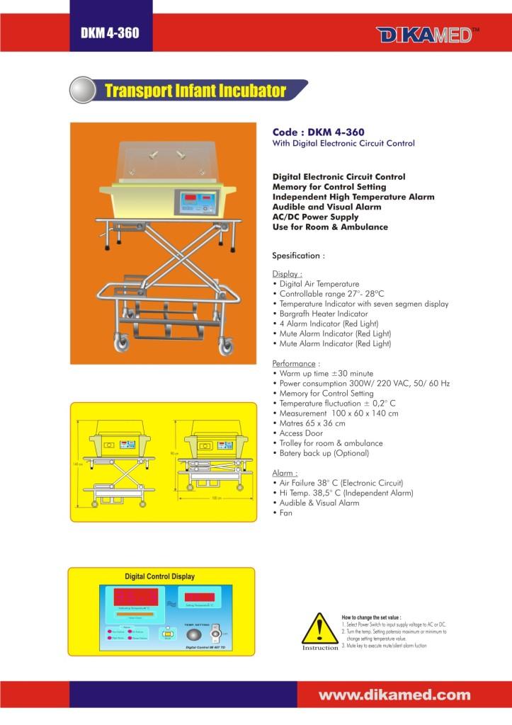 108. Transport Infant Incubator