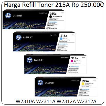 Harga Refill Toner 215A