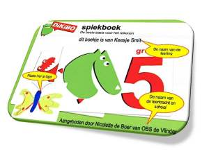 DiKiBO Spiekboekje rekenen groep 5 Special Edition