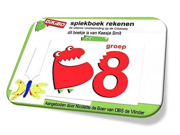 DiKiBO Spiekboekje rekenen groep 8 Special Edition