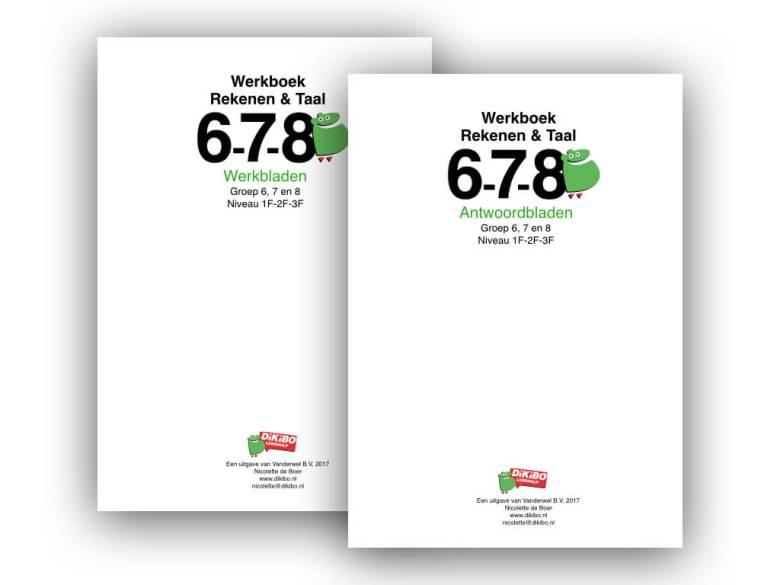 DiKiBO werkboek rekenen en taal groep 6, 7 en 8