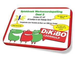 DiKiBO Spiekboek Werkwoordspelling deel 2