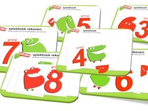 Kies en download spiekboeken rekenen basis voor groep 3 - 8