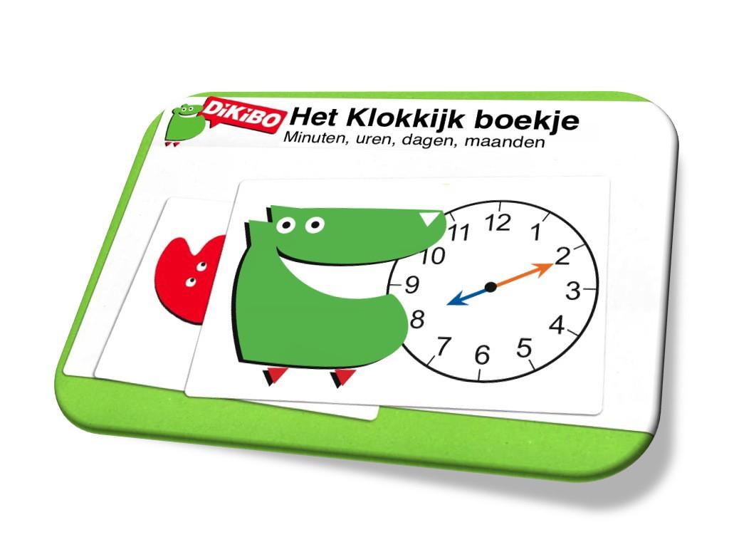 Genoeg Klokkijken leren in groep 3, 4 en 5 met het DiKiBO klokkijkboekje JQ64