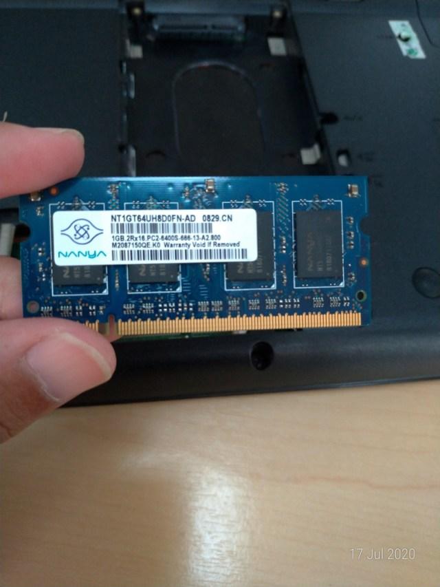 ram laptop compac cq20