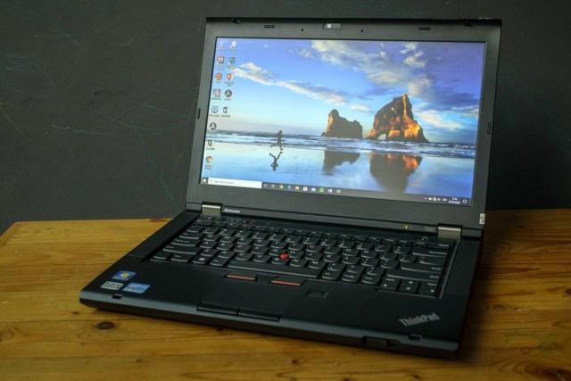 Mencoba Laptop Yang Bisa Upgrade Cpu Lenovo Thinkpad T430 Diki Septerian