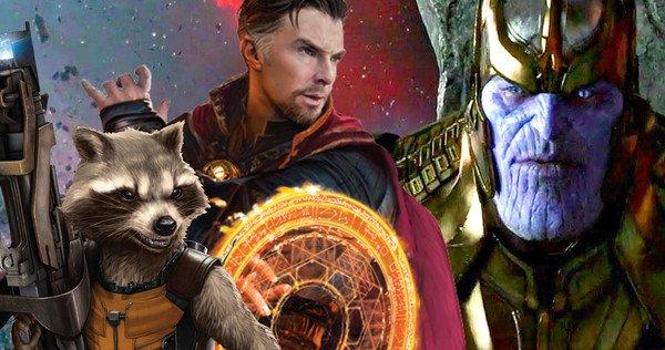 Doctor Strange & Rocket Raccoon, Infinity War'da Takım Mı Olacak? 1