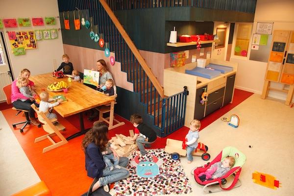 dagopvang baby-dreumesgroep in barrier Eindhoven