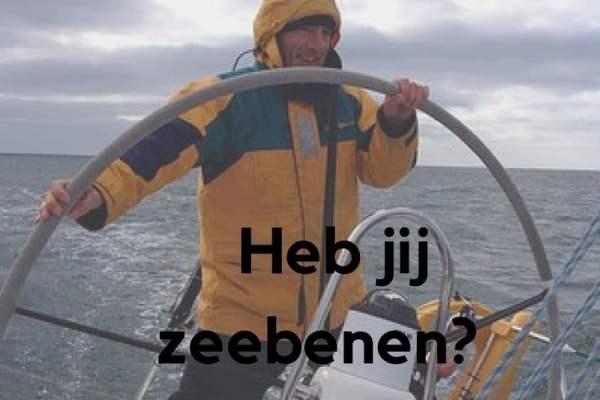 Heb jij zeebenen?