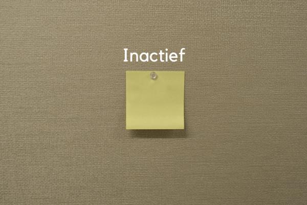 Inactief