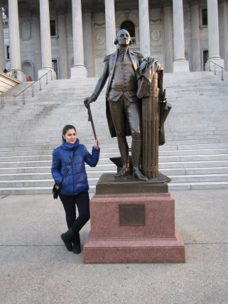 ABŞ, Cənubi Karolina ştatı, Kolumbiya şəhəri Vaşinqton heykəli
