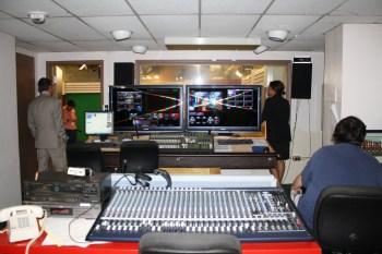 ABŞ, Kolumbiya, Cənubi Karolina Universitetinin televiziya studiyasında