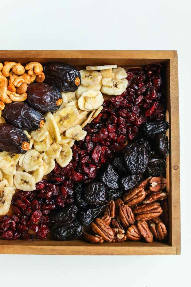 photo of assorted fruits on wooden tray