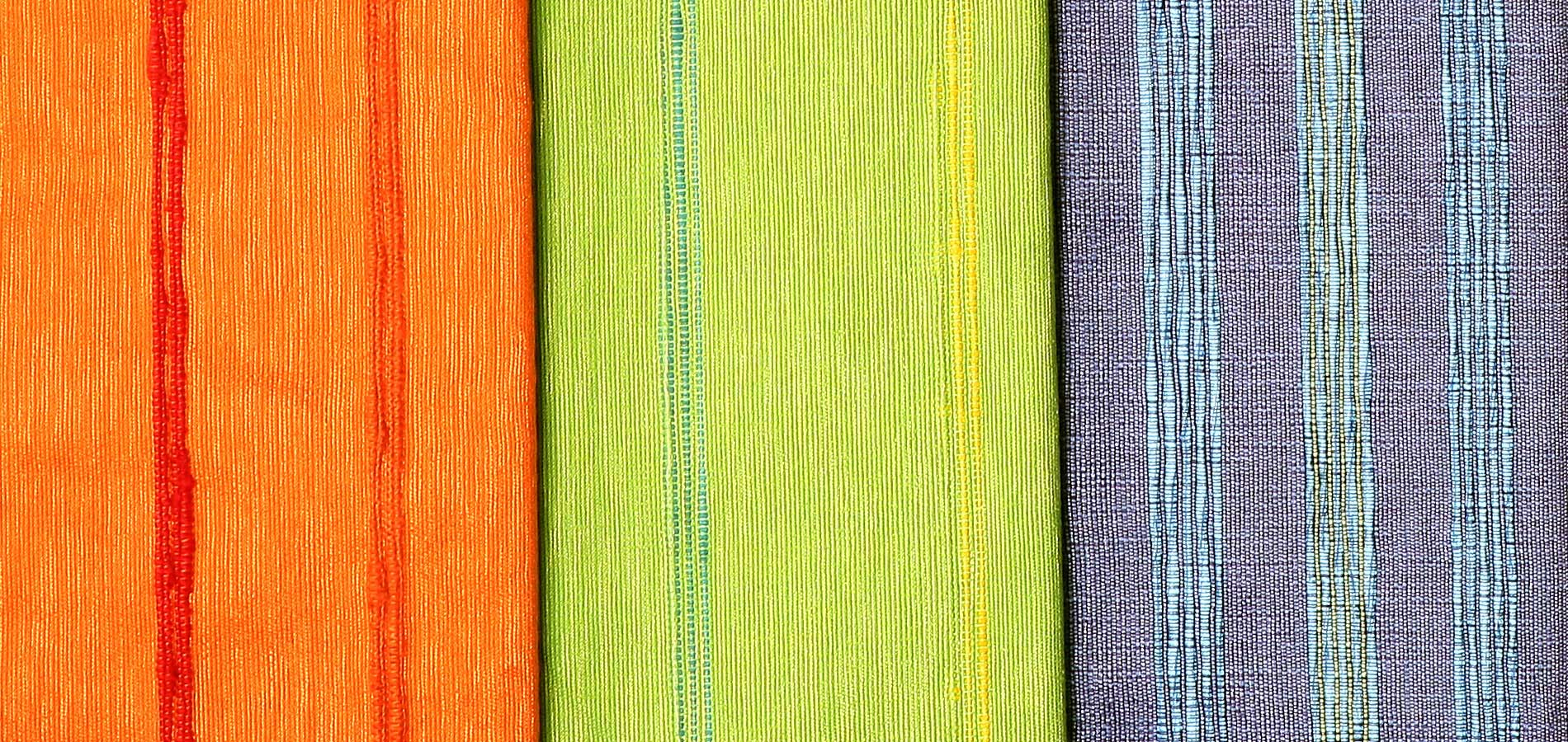 Textiles elaborados en telar manual