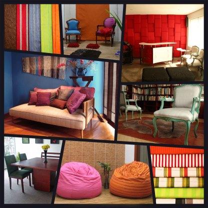 Telas para decoración de muebles