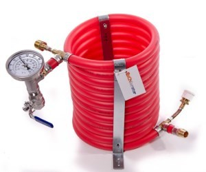 Exchilerator Counterflow Wort Chiller for Homebrewing Beer
