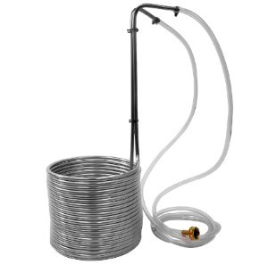 NY Brew Supply Super Efficient Stainless Steel Wort Chiller