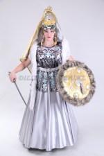 2063. Казахский костюм Томирис