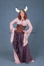 5705. Женский костюм для вечеринки в стиле викингов