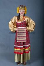 5778. Русский женский костюм