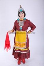 33632. Чувашский народный костюм женский