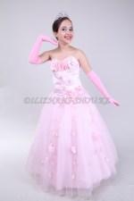 Бальное платье розовое