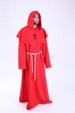 3873. Монах в красном