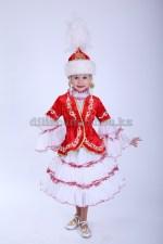 Казахские камзол и платье для малышей