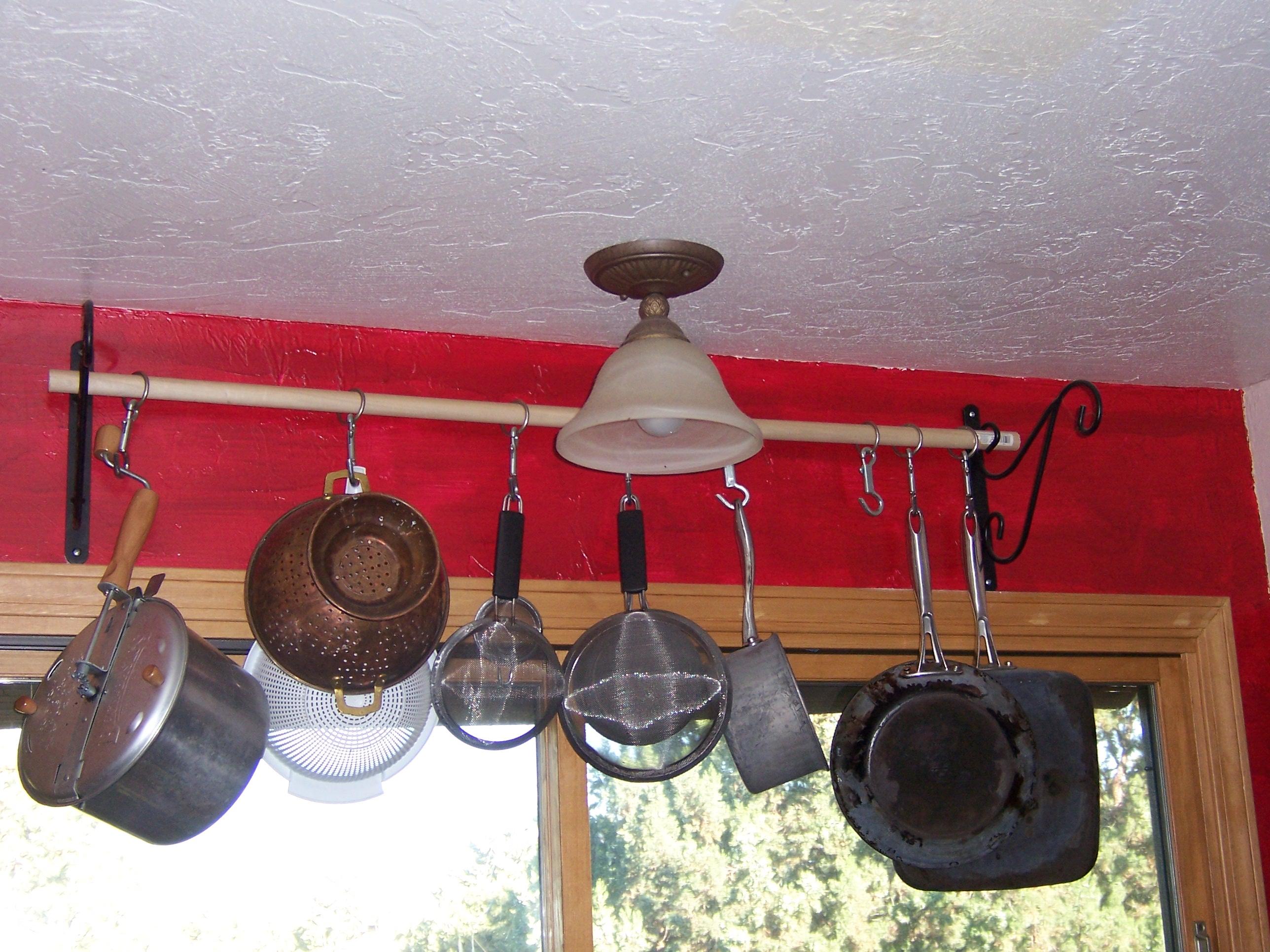 Diy Cheap Effective Pot Rack Sup A Dillie O
