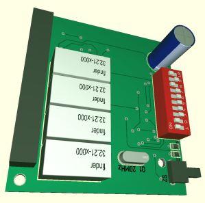 DMX-Relaiskarte-V1.1-Oberseite