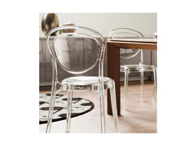 Transparent Parisienne Chairs