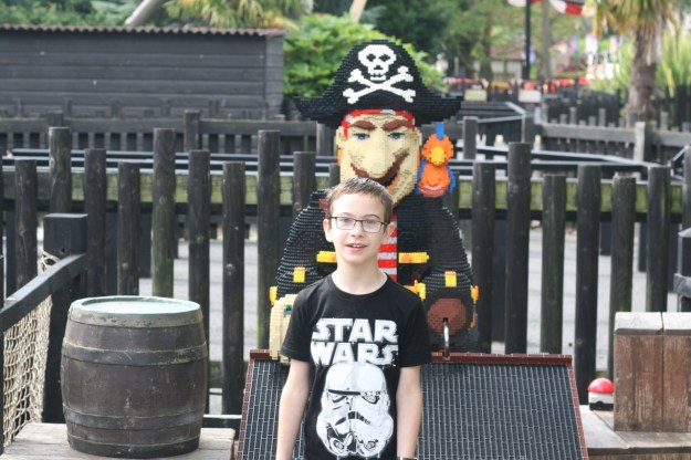 This is me with a lego pirate