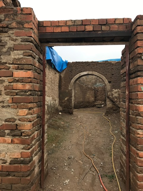 An ancient Street being renovated