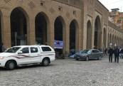 A look at the Qaysari Bazaar.. Love the arches and the cobblestones...