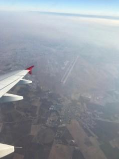 Approaching Erbil...